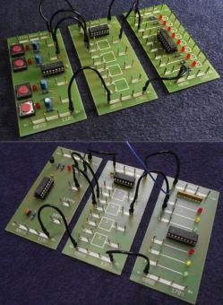 """Hardwarepaket für den Guide """"Einführung in die Digitalelektronik"""" für induktiven und deduktiver Ansatz"""