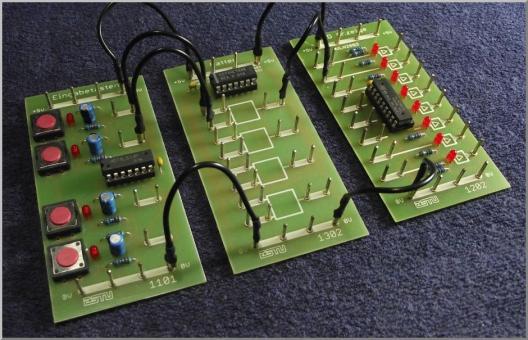 """Hardwarepaket für den Guide """"Einführung in die Digitalelektronik"""" nur deduktiver Ansatz"""