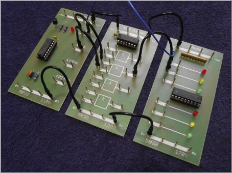 """Hardwarepaket für den Guide """"Einführung in die Digitalelektronik"""" nur induktiver Ansatz"""