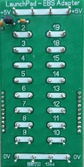 TI-Launchpad EBS-Adapter