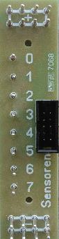 Anschlussschiene Sensoren